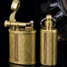 wholesale Men brand Lighter brass jifeng lighters + oil pots vintage antique creative kerosene