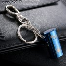 Honest genuine creative personality Mini Key metal inflatable open flame wheel lighter high-end
