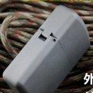 5.9*4.1cm Shield wararmor TC4 Titanium alloy kerosene lighter - Sandblasting  with original box