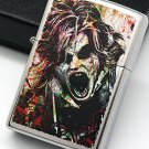 ZHY Flower sand coloring madman authentic ZPO lighter BC3622