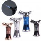 High Heat Adjustable Flame Butane Gas Jet Torch Welding Kitchen Cigarette Cigar Torch Lighter B