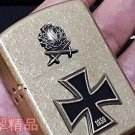 5.8*4.2*1.5 cm 912 Thicker Shield A Battle Knight Cross Knight lighter Pure copper waterproof