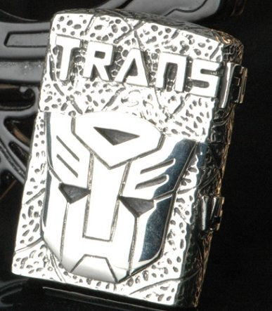 FOR  genuine Heavy handmade Hand-carved Transformers lighter BC3715