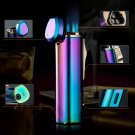 5pcs/lot high quality Butane gas windproof lighter gadgets for men  plasma lighter isqueiro wit
