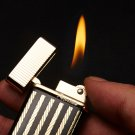 10pcs/lot  Butane gas windproof lighter with pakeage box gadgets for men 4 color select high qu