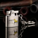 10pcs/lot  Cool  4 color select Butane gas windproof lighter with pakeage box gadgets for men h