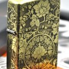 wholesale  lighter brand copper Five-sided carved top carved  flower  gold liner  BC3874