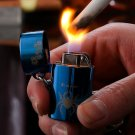 10pcs  Butane windproof lighter gadgets for men 3 color select gas plasma lighter isqueiro with