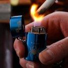 10pcs   Butane windproof lighter gadgets for men 3 color select gas plasma lighter isqueiro cig
