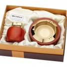 wholesale  high-end boutique Wood  Ashtray with lighter BC3931