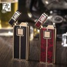Tiger Touch Ignition Cigarette Lighter Electronic Battery Refillable Windproof Butane Lighter B