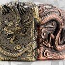 3 color gold liner 6.7*4.5*2.5cm  dragon claw  Heavy armor   kerosene lighter Z91286 BC4049