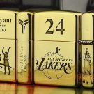 MJL wholesale lighter brand Genuine copper gold liner five face etching, Kobe retired memorial