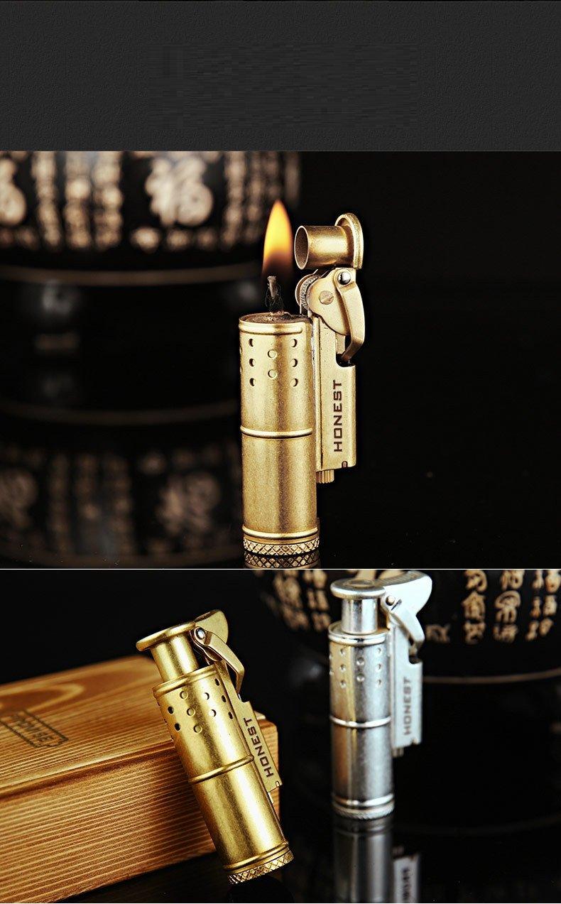 2pcs free shipping France Israel retro vintage trench lighters cigarette kerosene LIGHTER Creat