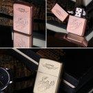 15pcs/lot 2016 new fashion Oil Lighter Cigarette grinding cigarettes Kerosene Windproof Lighter