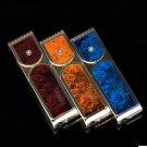 50pcs/lot Cool windproof Lighter flameless butane plasma lighter 3 kinds chooes isqueiro as chr