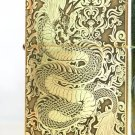 ZQwholesale  Brand  lighter Genuine dragon Pure copper etching on three sides BC4284