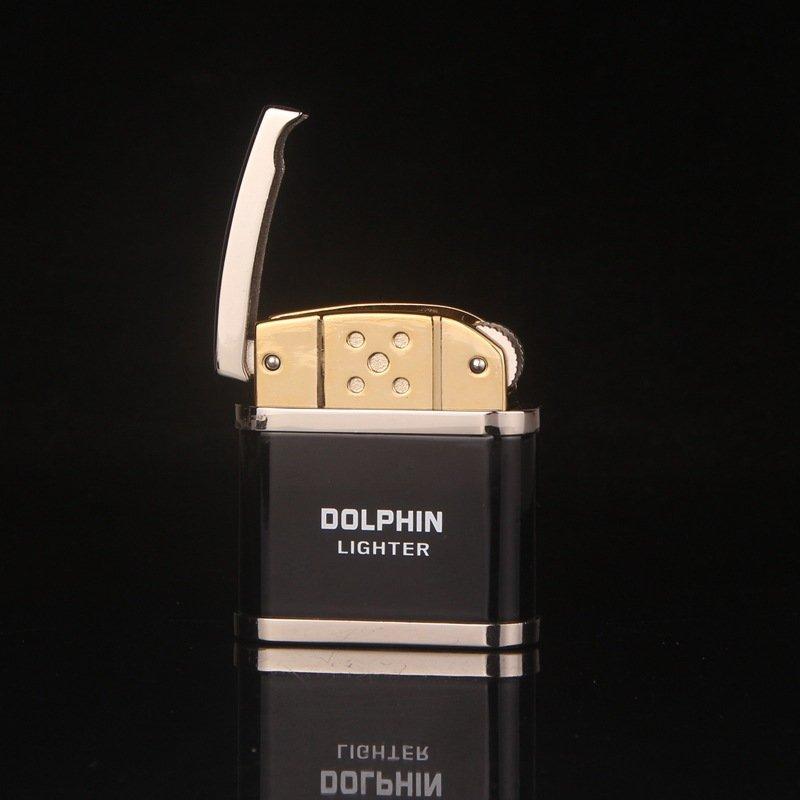 100pcs/lot wholesale cigarette LIGHTE butane lighter as christmas gift for men as smoking acces