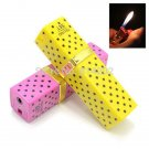 2pcs  Novelty Lipstick shape Cigarette Lighter Refillable Gas Cigar Lighter free shipping BC4420