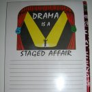 Note Book- Drama Theme