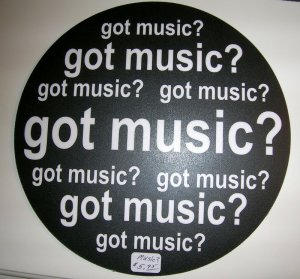 "Computer Mouse Pad- ""Got Music"""