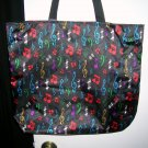 Tote Bag with Music Notes
