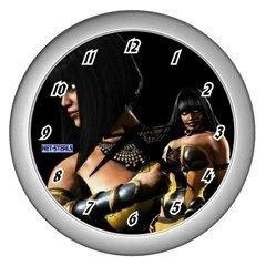 Net-Steals New, Wall Clock (Silver) - Mortal Kombat Tanya