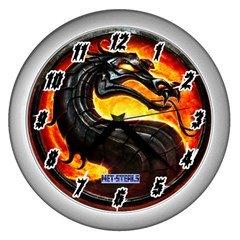 Net-Steals New, Wall Clock (Silver) - Mortal Kombat