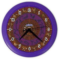 Net-Steals New, Color Wall Clock - Zodiac