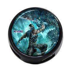 Net-Steals New 4-Port USB Hub - Lot of 6 Random 'Mortal Kombat' Themed