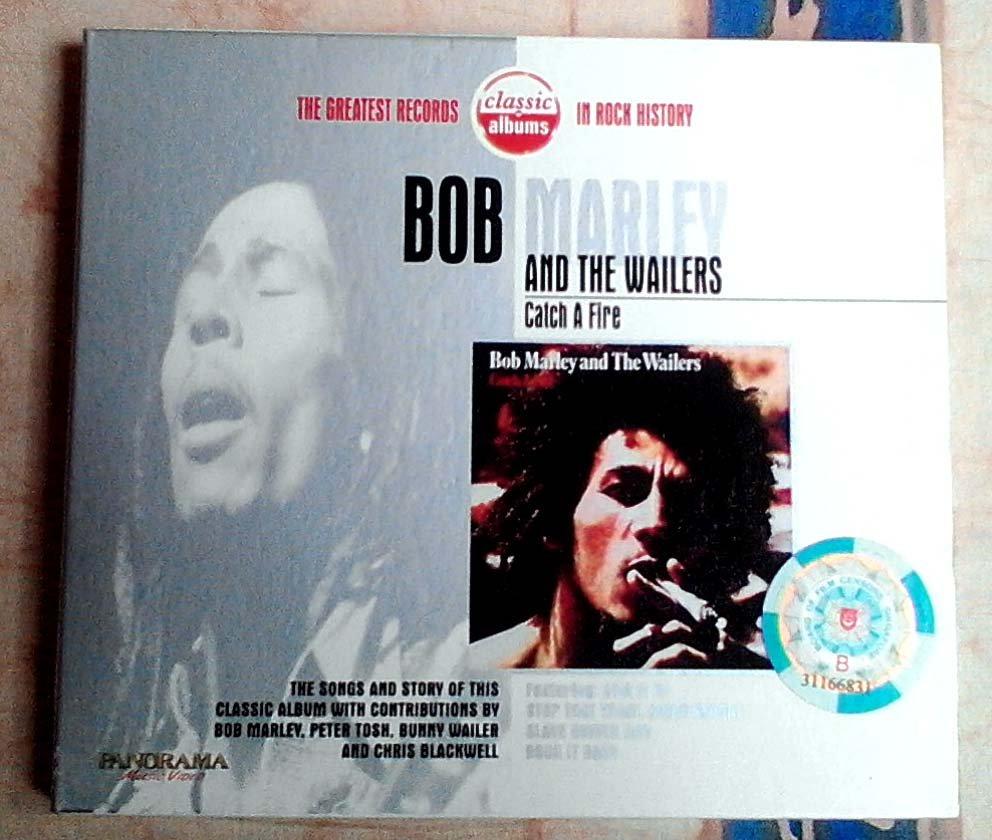 Bob Marley & The Wailers Catch A Fire Video-CD