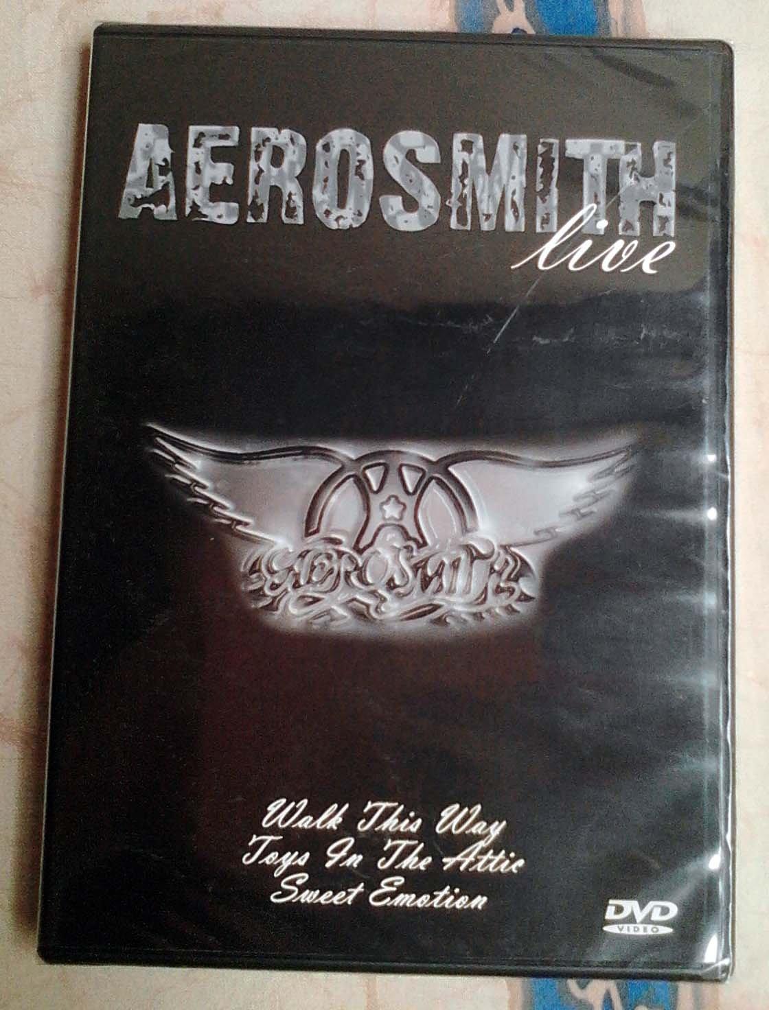 Aerosmith Live DVD