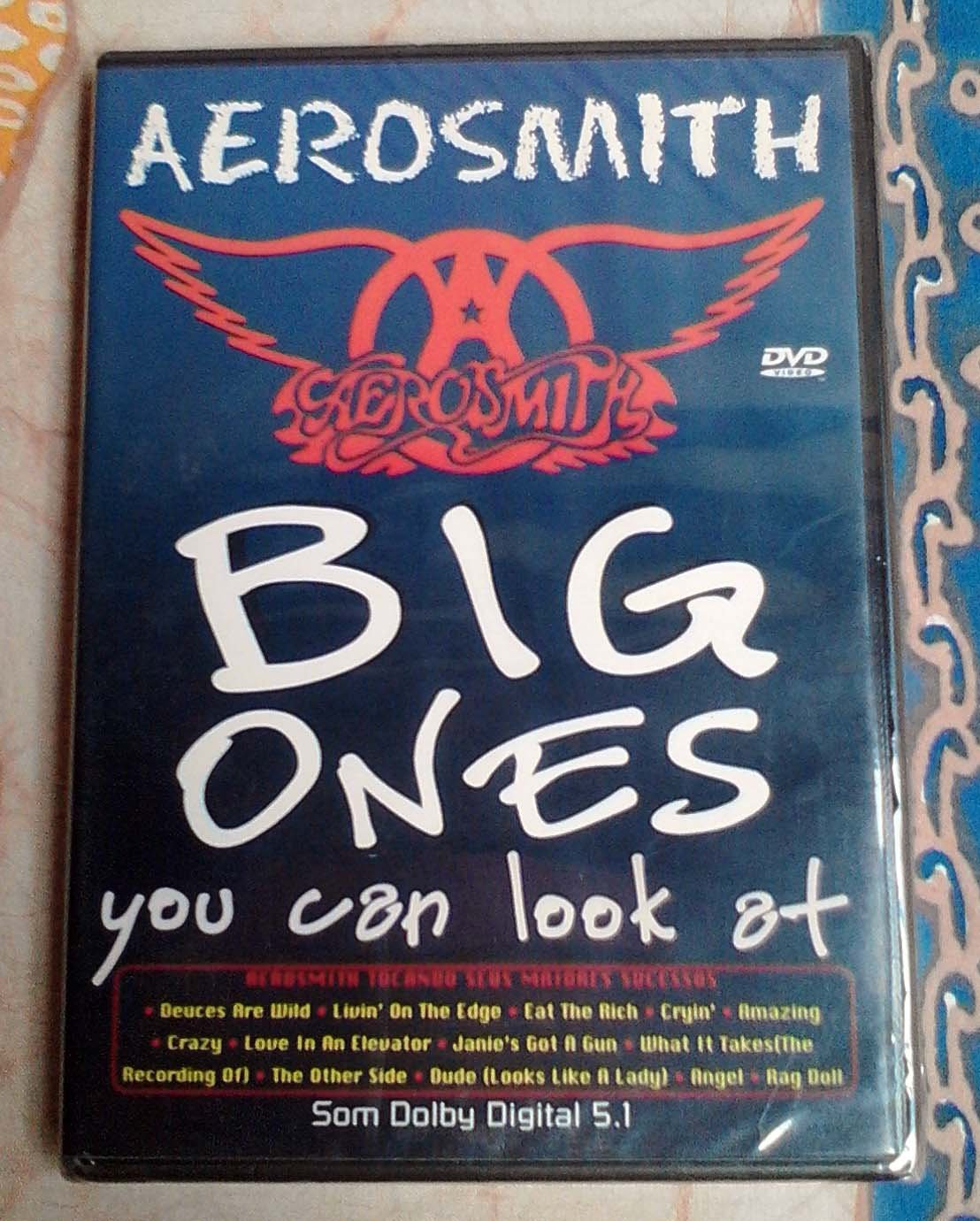 Aerosmith Big Ones You Can Look At DVD