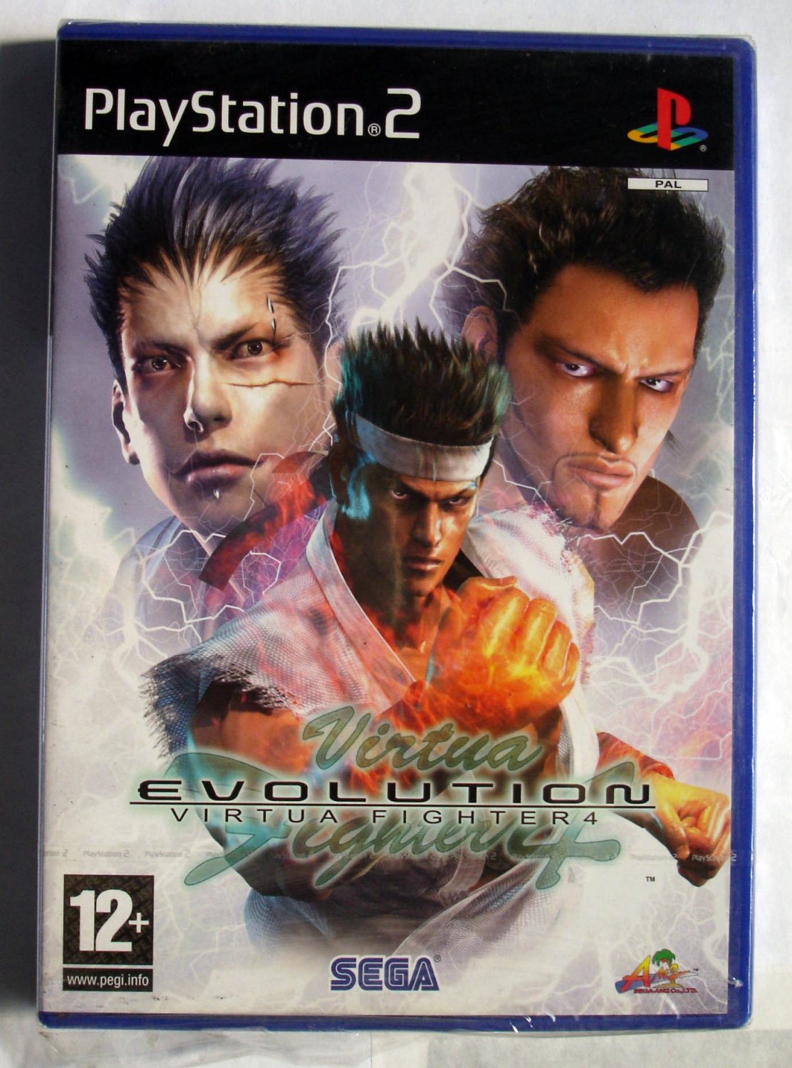 Virtua Fighter 4 Evolution Sony Playstation-2 PAL Systems