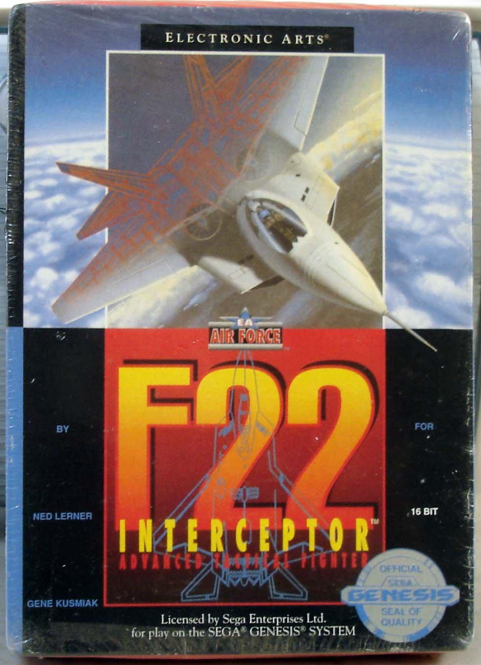 F22 Interceptor Sega Genesis 1991