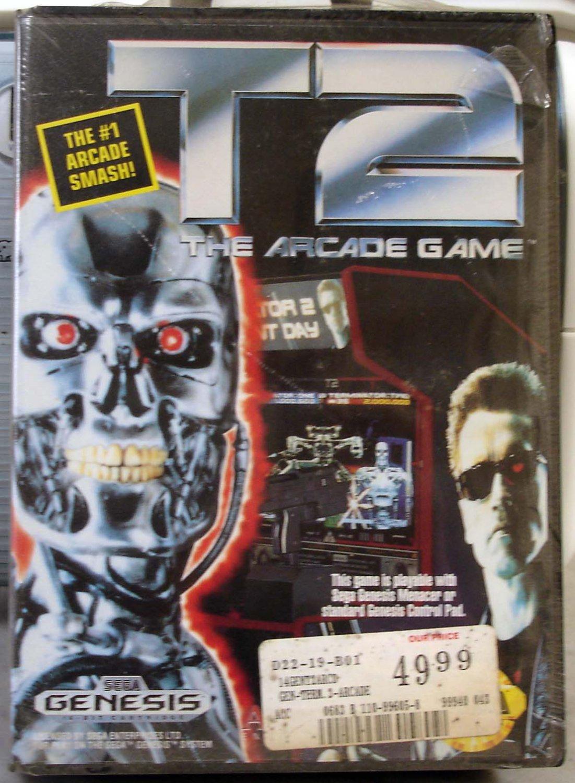 T2 The Arcade Game Sega Genesis 1992