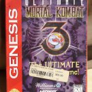 Ultimate Mortal Kombat 3 Sega Genesis 1996