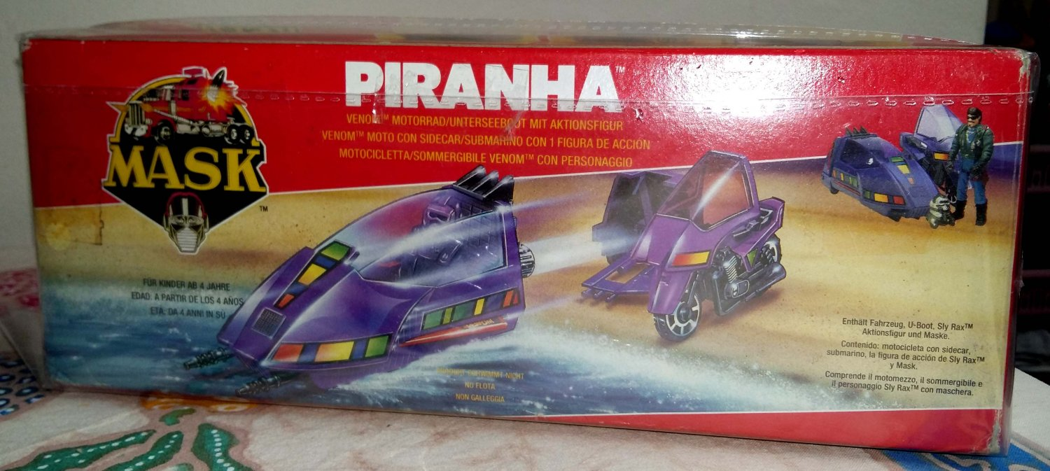 Piranha Mobile Armored Strike Kommand MASK Kenner M.A.S.K. Venom
