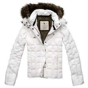 Abercrombie & Fitch Womens Amber Fur Jacket