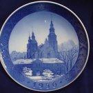 """1956 ROYAL COPENHAGEN RC CHRISTMAS PLATE  """"  ROSENBORG CASTLE """""""