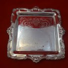 Silverplate Gorham Square Tray