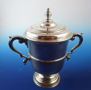 Sterling Silver Covered Trophy Cup 8""
