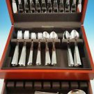 New  Bernadotte Stainless Steel Set by Georg Jensen Service for 12 + 3 servers