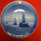 "1930 Royal Copenhagen Christmas PLate ""Fishing Boats Returning"""