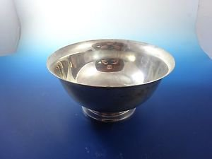 Sterling Silver Alvin Bowl with Revere Reproduction (H179)
