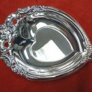 Godinger Silverplate Baroque Heart Shaped Candy Dish
