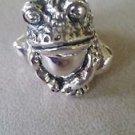 "1 3/4"" High Sterling Silver 925 Frog Figurine  (#288)"