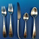 Never Used Vivianna Matte Stainless Steel 5 Piece Place Setting  Georg Jensen