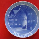 "1925 Royal Copenhagen RC Christmas Plate  "" Street at Christianshavn"" """