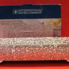 International Managerie Rectangular Silverplated Jewelry Box
